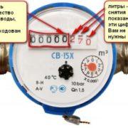 инструкция по замене счетчиков воды - фото 11