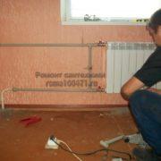 Установка радиатора полипропиленовыми трубами