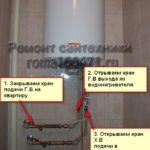 Как включить водонагреватель