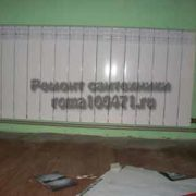 Радиатор отопления с краном Маевского