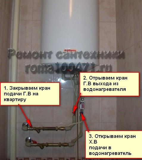 водонагреватель,