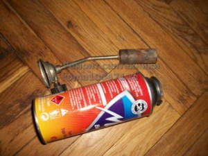 Газовая горелка с баллоном