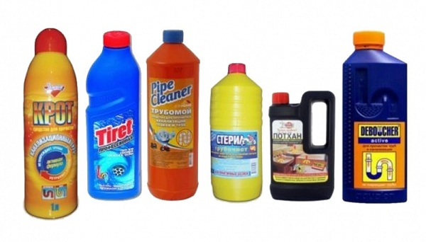 варианты химических средств