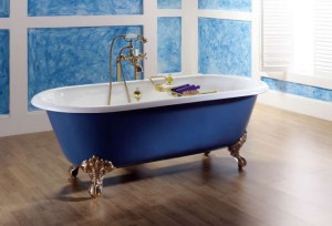 Уход за чугунной ванной